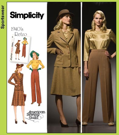 Simplicity 3688 This is so 1940s!
