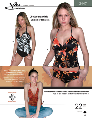 Swimsuit 2447tankini