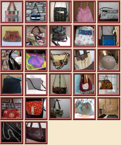 Handbag Contest Entries