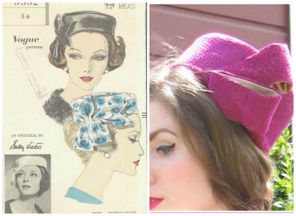 Hat Collage - Vintage