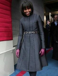 Michelle Obama's Inauguration Coat