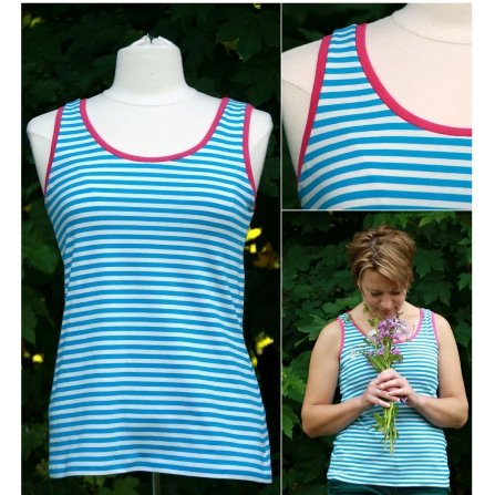 Maria Denmark 104 Just a Tank Top Downloadable Pattern