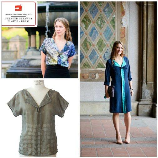Weekend Getaway Blouse + Dress