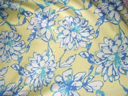 Inkjet Print Cotton Silk with Satin Finish. France