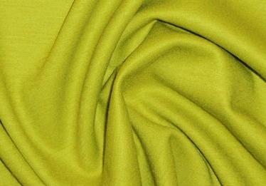 famous designer wool blend ponte - chartreuse