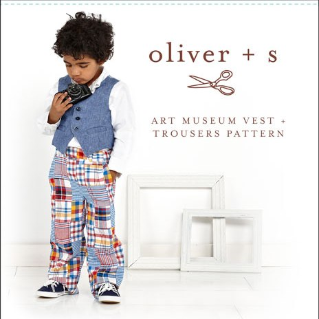 Oliver + S OS041AM Art Museum Vest + Trousers