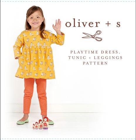 Oliver + S OS042PT Playtime Dress, Tunic + Leggings