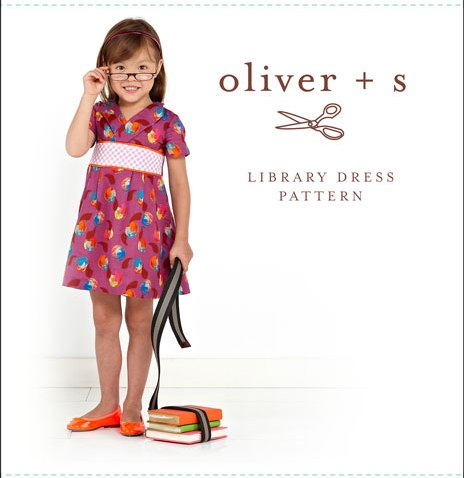 Oliver + S OS043LD Library Dress