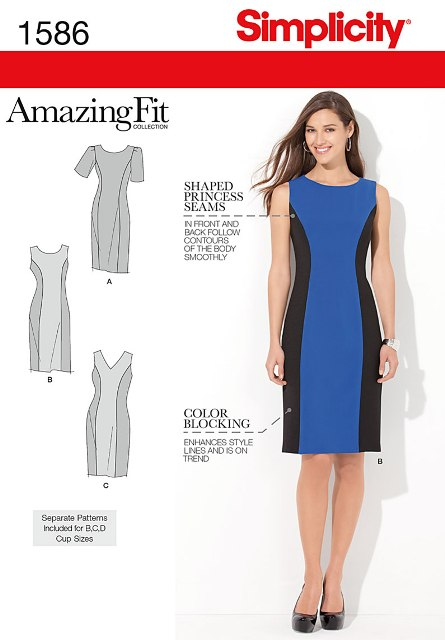 Simplicity 1586 Misses' Dress
