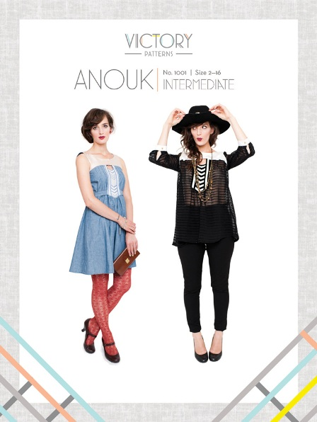 Victory Patterns 1001 Anouk Top and Dress