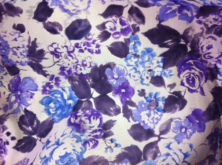 S-16050 Silk Dupioni Printed