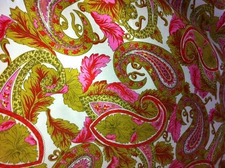S-1503W Designer Silk Shantung Printed. Milly