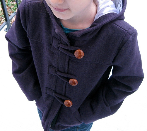 BurdaStyle Downloadable: 10-2011-139 Girl's Duffle Coat