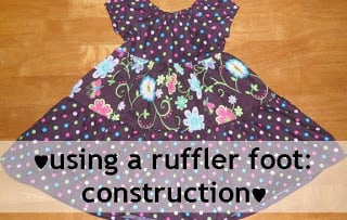 You can gather the strips quickly with your ruffler foot, attach them, and trim off any excess.