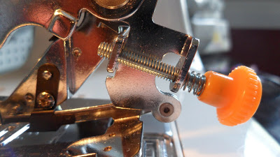 set your adjustment screw
