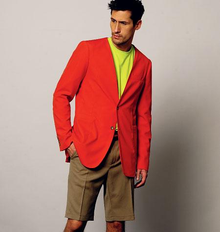 Vogue Patterns 8890 Men's Jacket, Shorts, and Pants