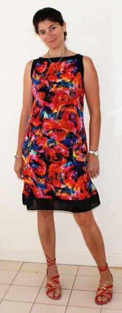 First Prize: meggipeg for PR Member Savage Coco Patterns Divine Dinner Dress
