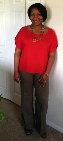 Second Prize (Tie): MrsCharisma for New Look: 6025 Misses' Tops/Tunics