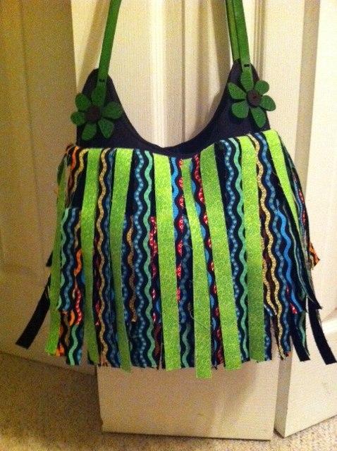 Stacie Wachtel's Fringe Bag