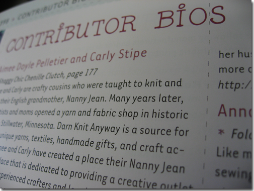 Fabric-by-Fabric One-Yard Wonders bios