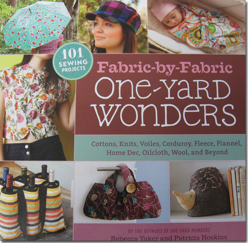 Fabric-by-Fabric One-Yard Wonders cover