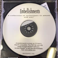 Embellishments - A CD book by Kenneth King