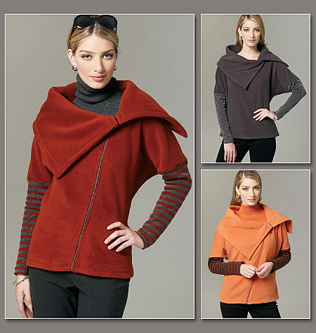 Vogue Patterns 8778 Misses' Top and Jacket
