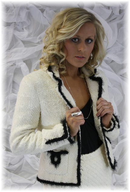 Jacket from Angela Wolf's Couture Collection