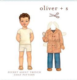 Oliver & S Secret Agent Trench