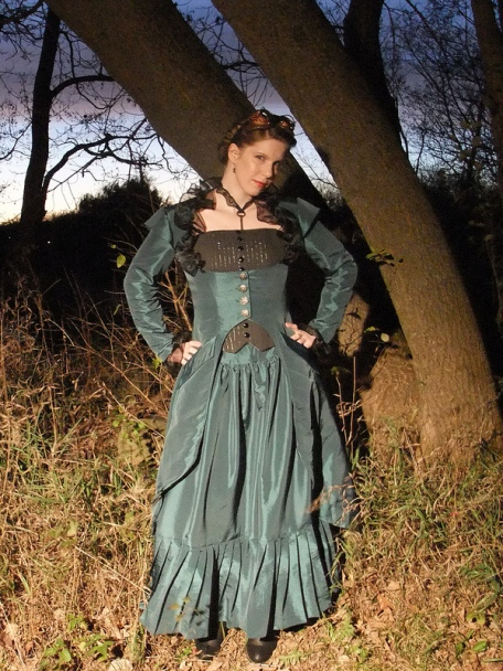 First Prize (by Member Vote): j Renee Design for Simplicity 2172 Misses Steampunk Costume