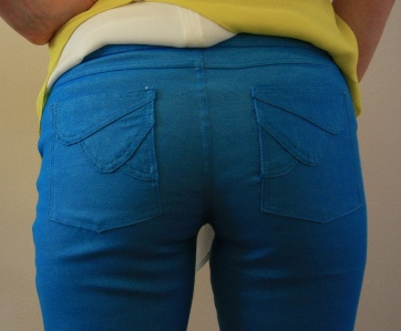 Second Prize Winner in PatternReview's 2012 Jeans Contest Wearing Vogue Patterns: 8774 Misses' Jeans
