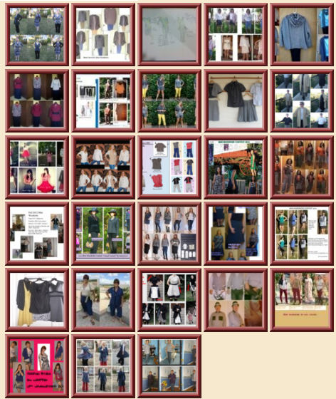 Mini-wardrobe Contest Collage