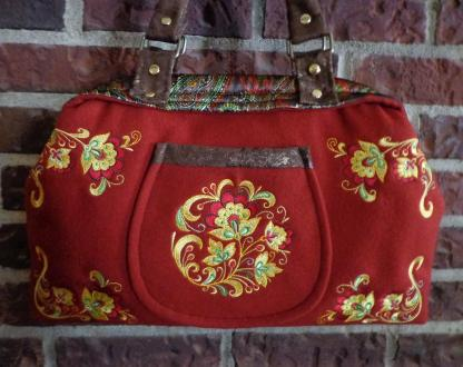 Second Prize (by Member Vote): TammyAnn for Indygo Junction: IJ711 The Carpetbag