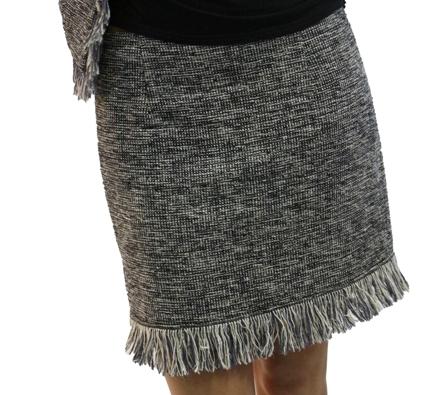 Angela Wolf Fringe Skirt