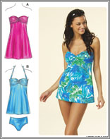 Kwik Sew 3609 Misses Swimwear & Dress