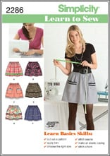 Simplicity 2286 Misses' Skirts