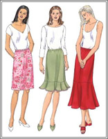 Kwik Sew 3336 Misses' Skirts