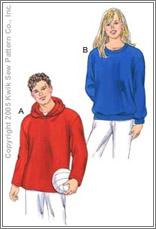 Kwik Sew 3344 Unisex Adult's Shirts