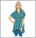 McCall's 6794 Misses' Tops and Tunics