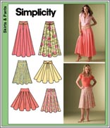 Simplicity 4188 Misses' Skirts