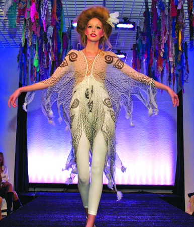Zandra Rhodes: A Lifelong Love Affair with Textiles is one of the exhibitions featured for Boston Fashion Week.