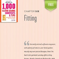 Fitting Chapter from the Clever Sewing Tips Book