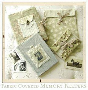 Amy Butler Fabric Covered Memory Keepers 005MK