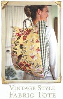 Amy Butler Vintage Style Backpack Tote AB001VT