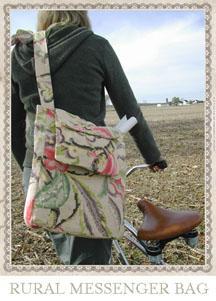 Amy Butler Rural Messenger Bag AB008MB