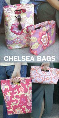 Duffel Bag Sewing Pattern - Fine Craft Guild dotcom