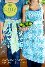 Amy Butler Domestic Goddess Aprons AB037DG