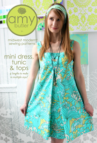 Amy Butler Mini Dress, Tunic & Top AB039MD