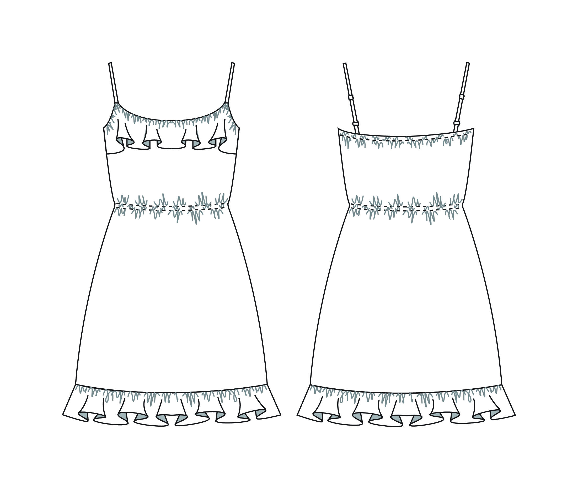 Line Drawing Dress : The gallery for gt drawings of dresses with pencil