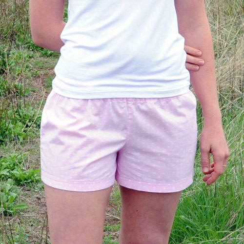 Angela Osborn Bobby Shorts Downloadable Pattern SS10-11-401